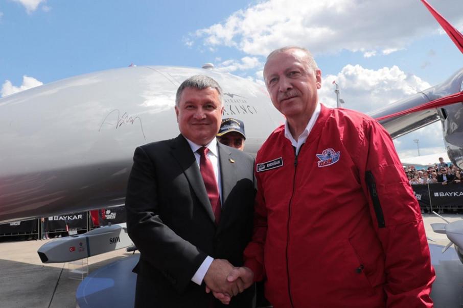 «Маленькие, но важные победы Украины»: Аваков встретился с президентом Турции Эрдоганом
