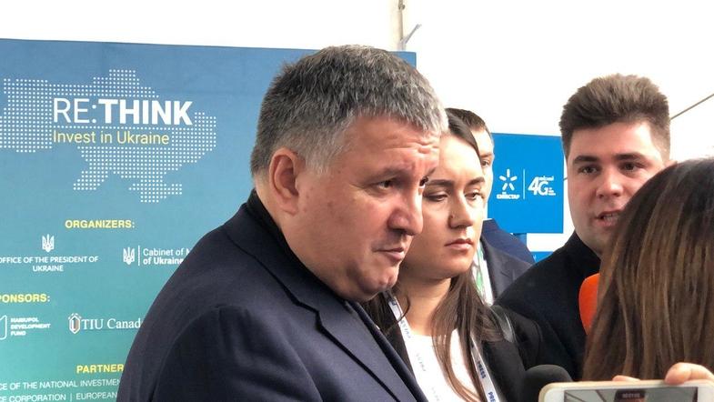 «Завтра!»: Аваков в Мариуполе рассказал о своей отставке. «Я свободный человек»