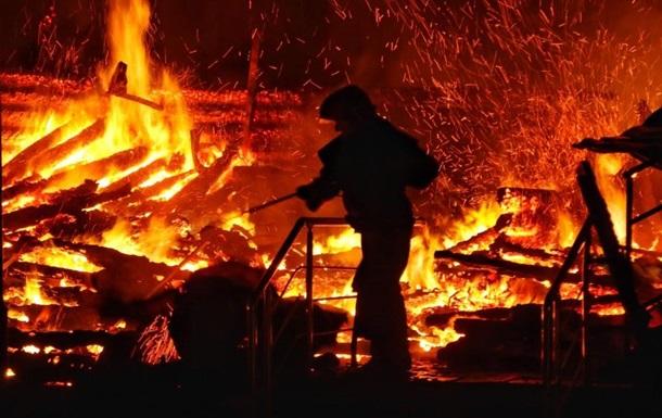 «Было обнаружено тело погибшего мужчины»: На Львовщине пожар уничтожил жилой дом