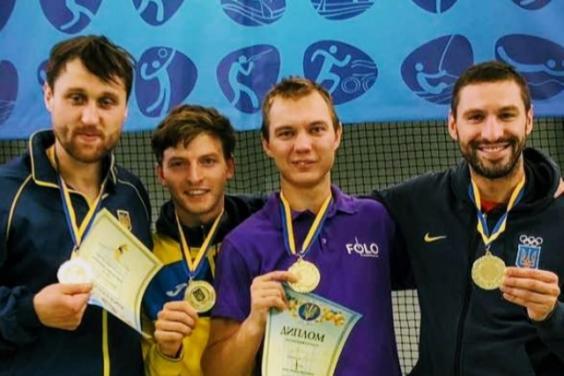 «Золото» и «бронза»: Харьковские шпажисты стали победителями на Кубке Украины
