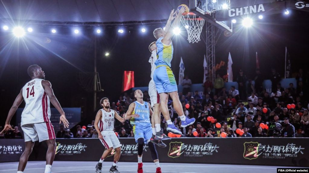 Украинская сборная пробилась в плей-офф чемпионата мира по баскетболу 3х3