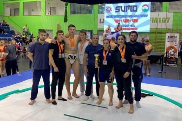 Настоящая гордость: Сборная украинских сумоистов завоевала 58 медалей на Чемпионате Европы