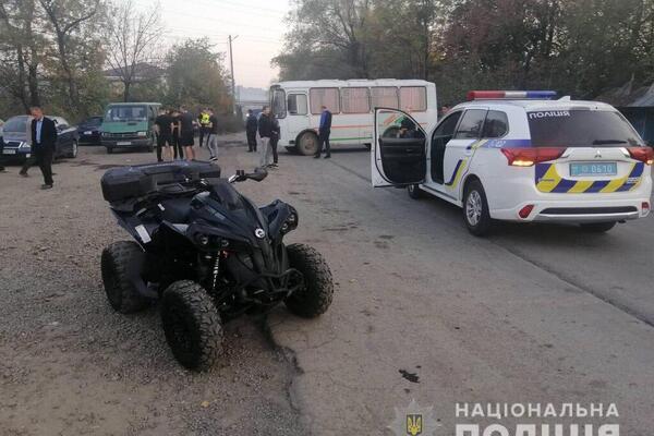 «Влетел в толпу»: На Закарпатье мужчина на квадроцикле устроил серьезное ДТП