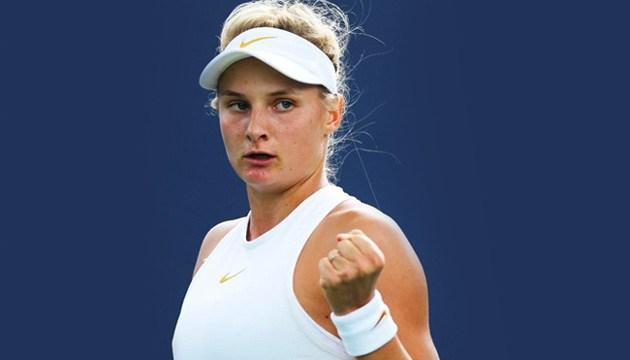 Украинская теннисистка Ястремская уверенно обыграла китаянку на престижном турнире