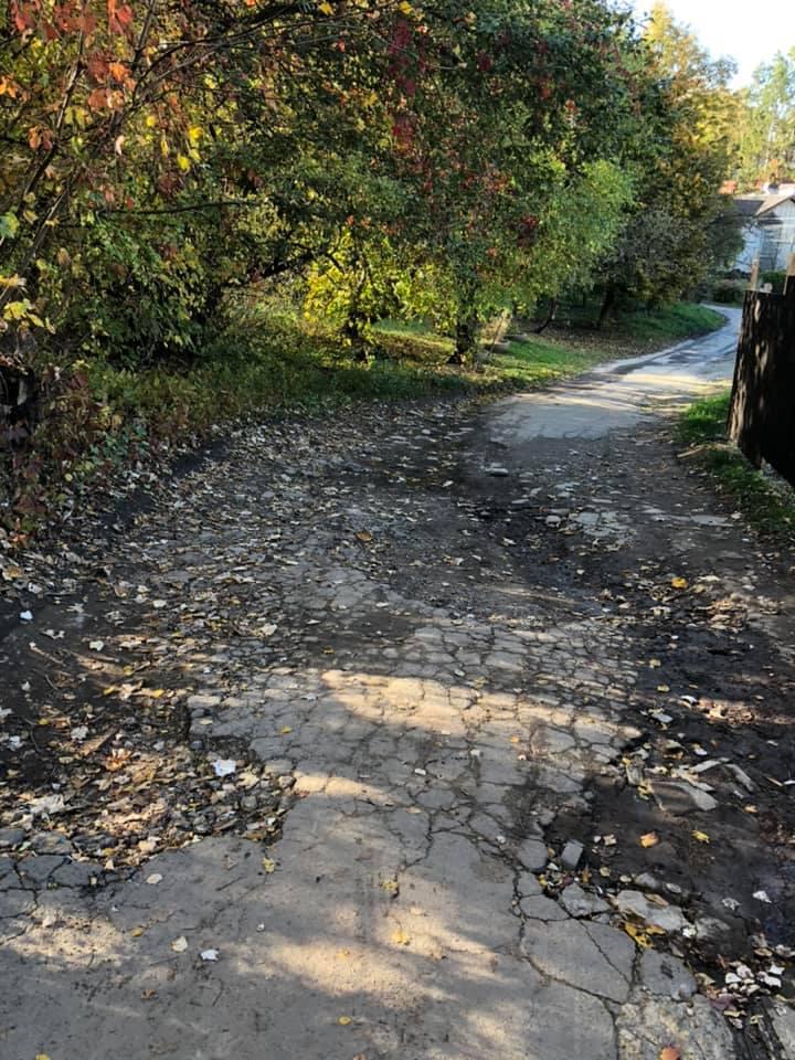 #СадовийвідремонтуйЛьвів: дороги на улице Крымской просто нет. Неужели власть не видит? Хуже чем в селе