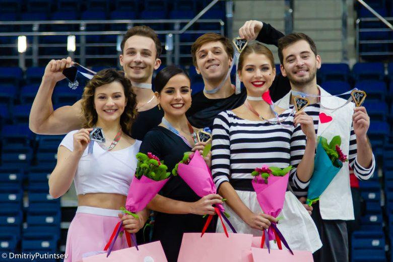 Украинские фигуристы получили «бронзу» на соревнованиях в Минске