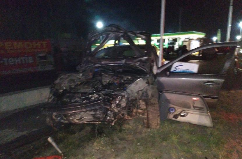 В жутком ДТП на Львовщине погибла девушка, четыре человека получили травмы