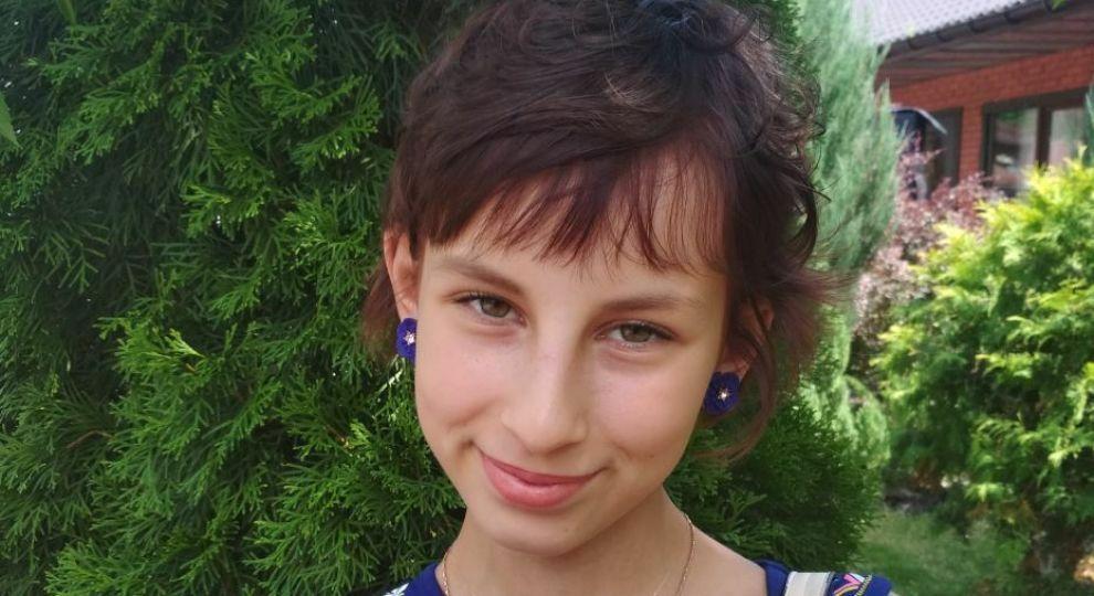 14-летняя Настя третий раз вынуждена избавляться злокачественной опухоли мозга