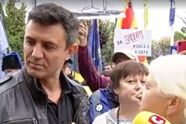 «Нанесли тяжелые прикосновения две женщины»: Скандальный Тищенко устроил истерику и попросил «защиты» в полиции