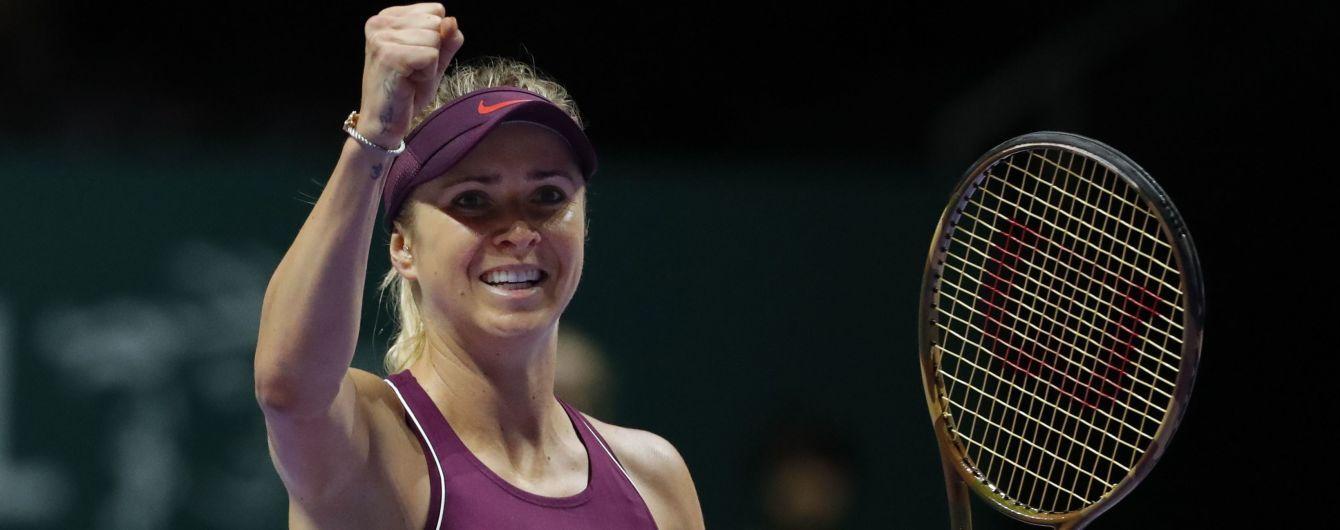 В который раз доказала, что достойна только побед! Элина Свитолина вышла на Итоговый турнир года