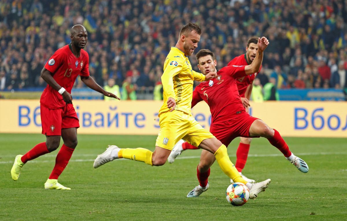 Героическая победа! Украинская сборная обыграла Португалию и досрочно вышла на Евро-2020