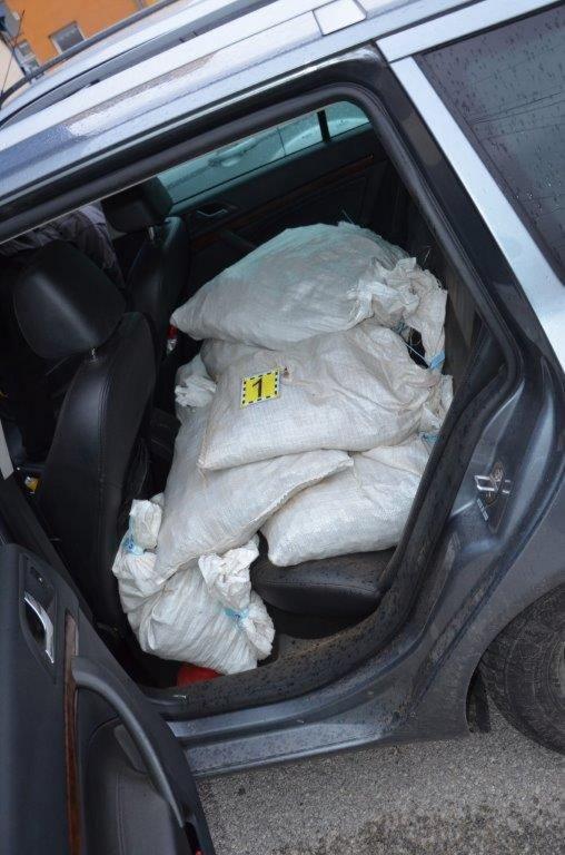 550 тысяч евро! Пограничники «не заметили» 700 кг нелегального янтаря. Украинцев держат под стражей в Словакии