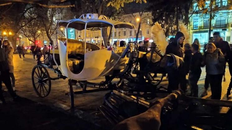 Все смешалось — кони, люди: Инцидент с каретой во Львове. Подробности