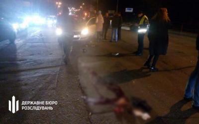 Жуткое ДТП! В Кропивницком полицейский насмерть сбил пешехода