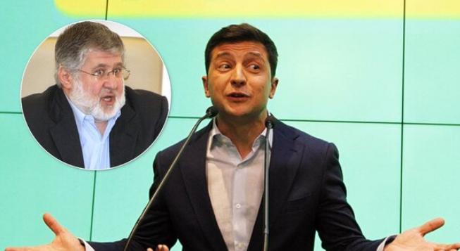 «Если он меня поддержал, то я …»: Зеленский прокомментировал свою связь с Коломойским