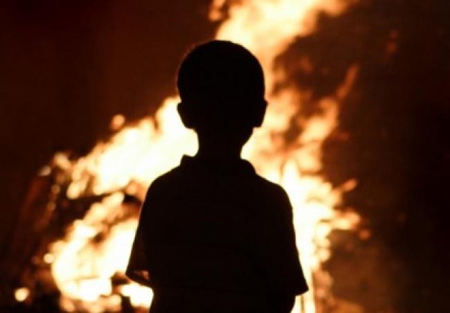 «Легли спать …»: На Житомирщине во время пожара погиб ребенок. Горе-мать была пьяна!