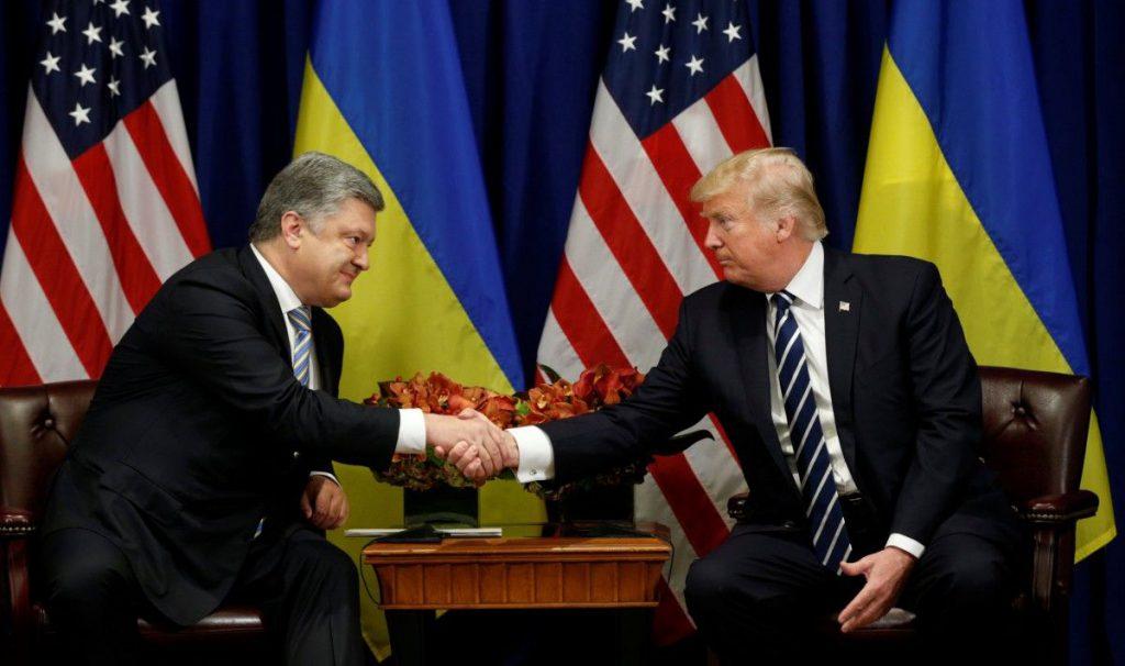 Давление на Трампа. В США «слили» главную тайну Порошенко. Луценко был в доле