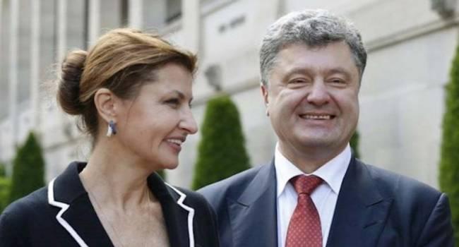 «Твое лицо, когда человек пропил шубу»: В Сети высмеяли новое фото супругов Порошенко. «Ни совести, ни чести»
