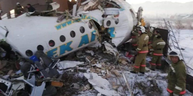 «Вышли и увидели, что самолет разделен пополам»: Выжившая в крушении самолета поделилась видео после катастрофы