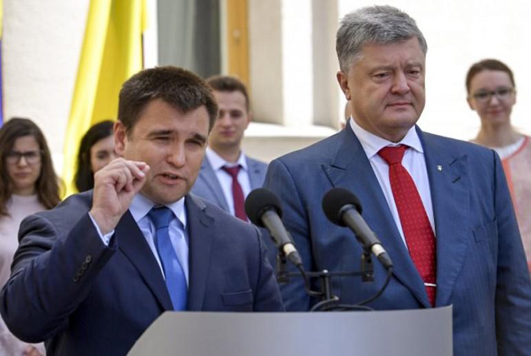 «Считаю это ошибкой»: Климкин сделал скандальное заявление о Порошенко. «Для чего было идти туда?»