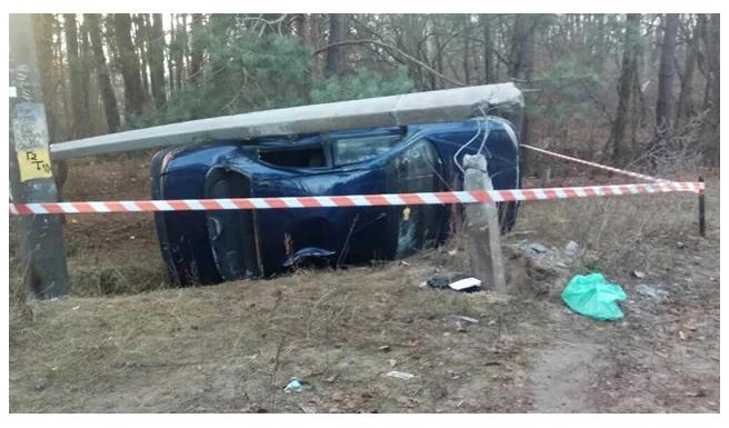 Балка вмяла пол авто: под Борисполем произошла ужасная трагедия. Дети в реанимации!