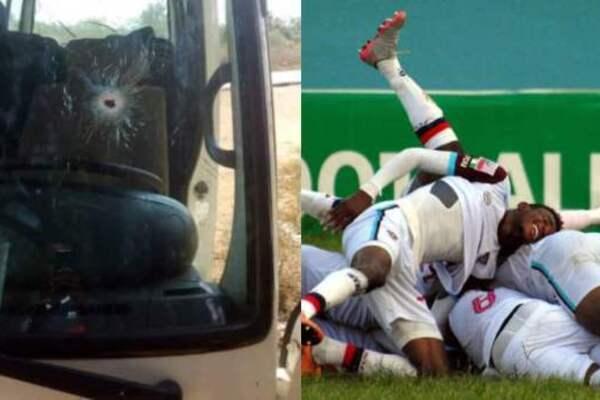«Открыли огонь по автобусу» : Известная футбольная команда попала под смертельный обстрел