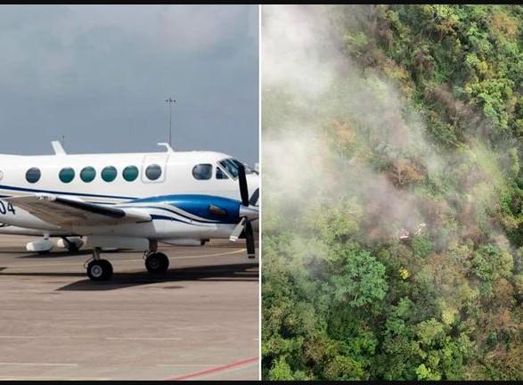 «Человеческая неострожность?»: Ужасное крушение самолета. Все пассажиры погибли