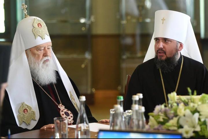 «Церковные войны»: За спиной Филарета пророссийские силы и Медведчук. Громкое заявление Епифания