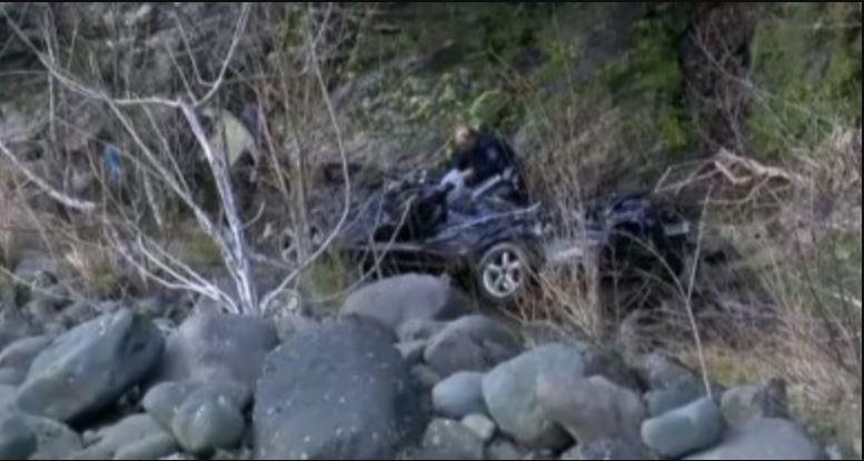 Рождественская трагедия: Пятеро школьников на авто на скорости сорвались в пропасть. В трауре вся страна