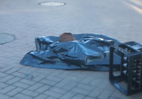 В центре Киева неизвестные расстреляли машину. Есть погибший. Объявлен план-перехват