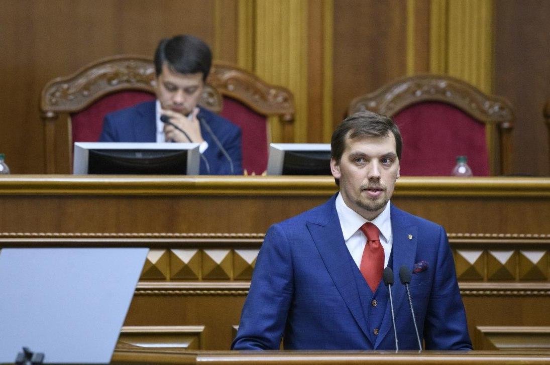 «Не будет!»: Разумков прокомментировал отставку Гончарука. «Будет отвечать на вопросы»