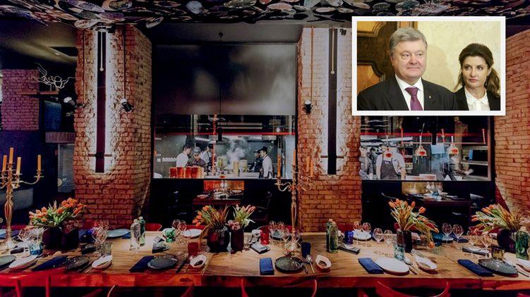 «На Сейшелах медуз было мало?»: Порошенко с семьей засекли в модном киевском ресторане самого Эктора Хименеса-Браво