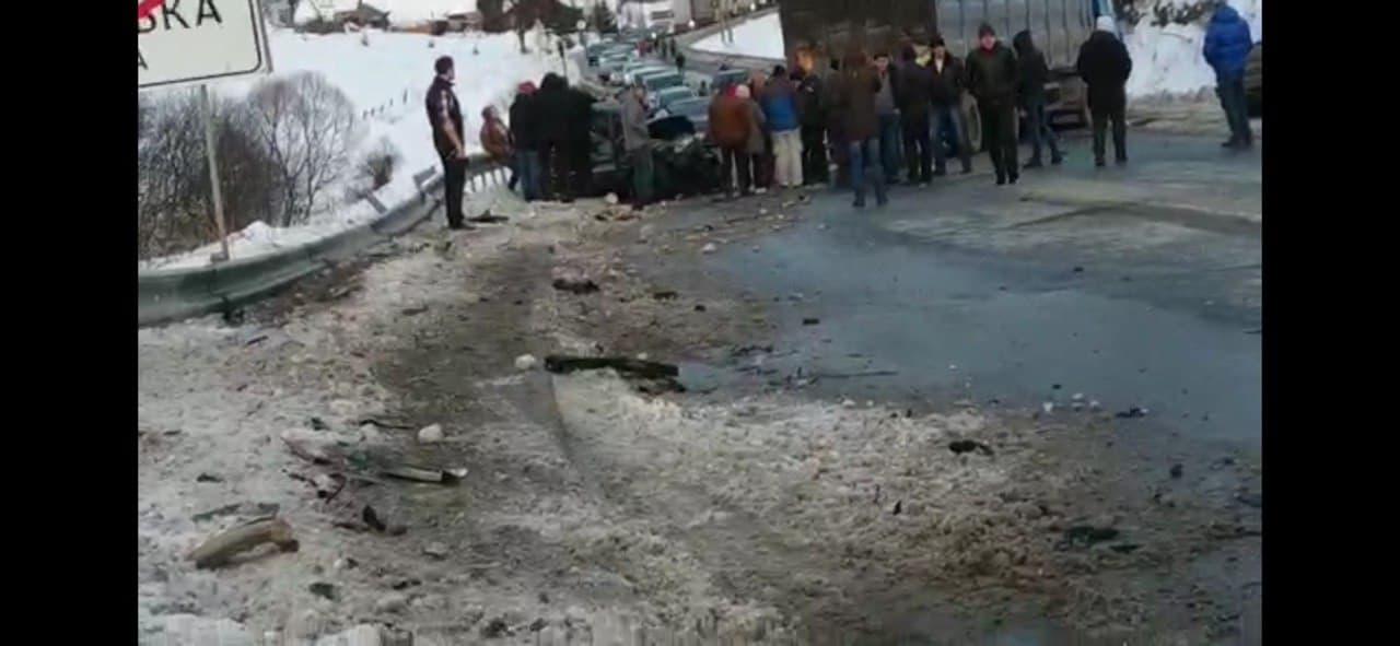 «Трагедия в Сочельник»: Жуткая масштабная авария на Львовщине. «Выехал на встречную и …»