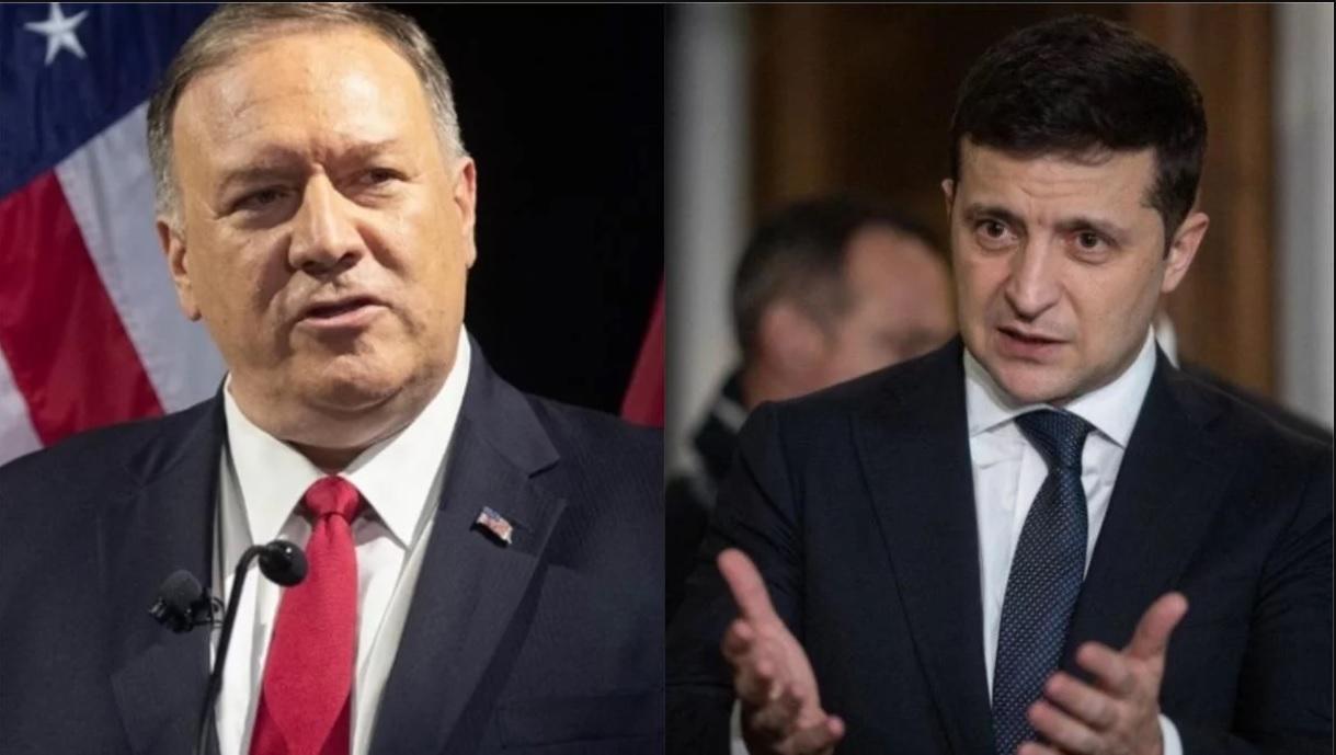 «Важная информация для расследования!»: Зеленский провел переговоры с Помпео. «Полная поддержка»