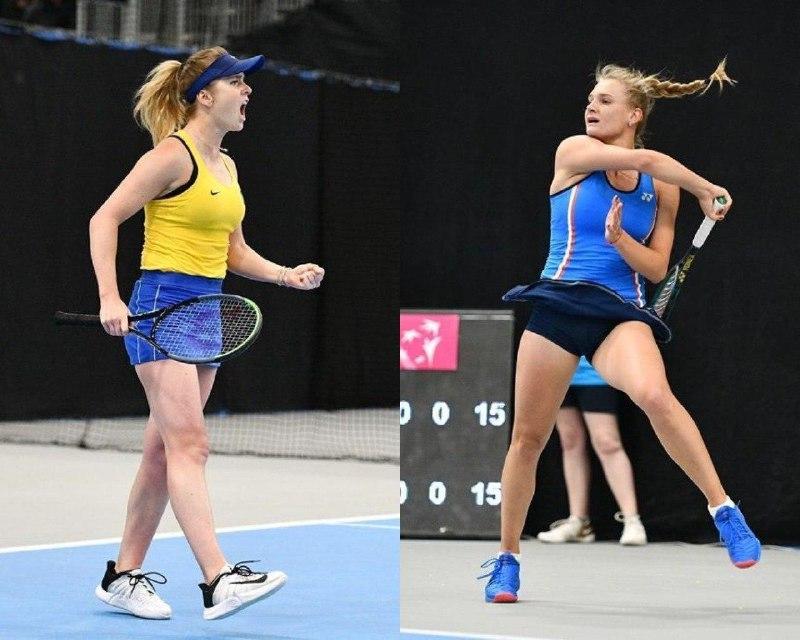 «Первое место в группе»: Свитолина и Ястремская вывели Украину в плей-офф Кубка Федерации