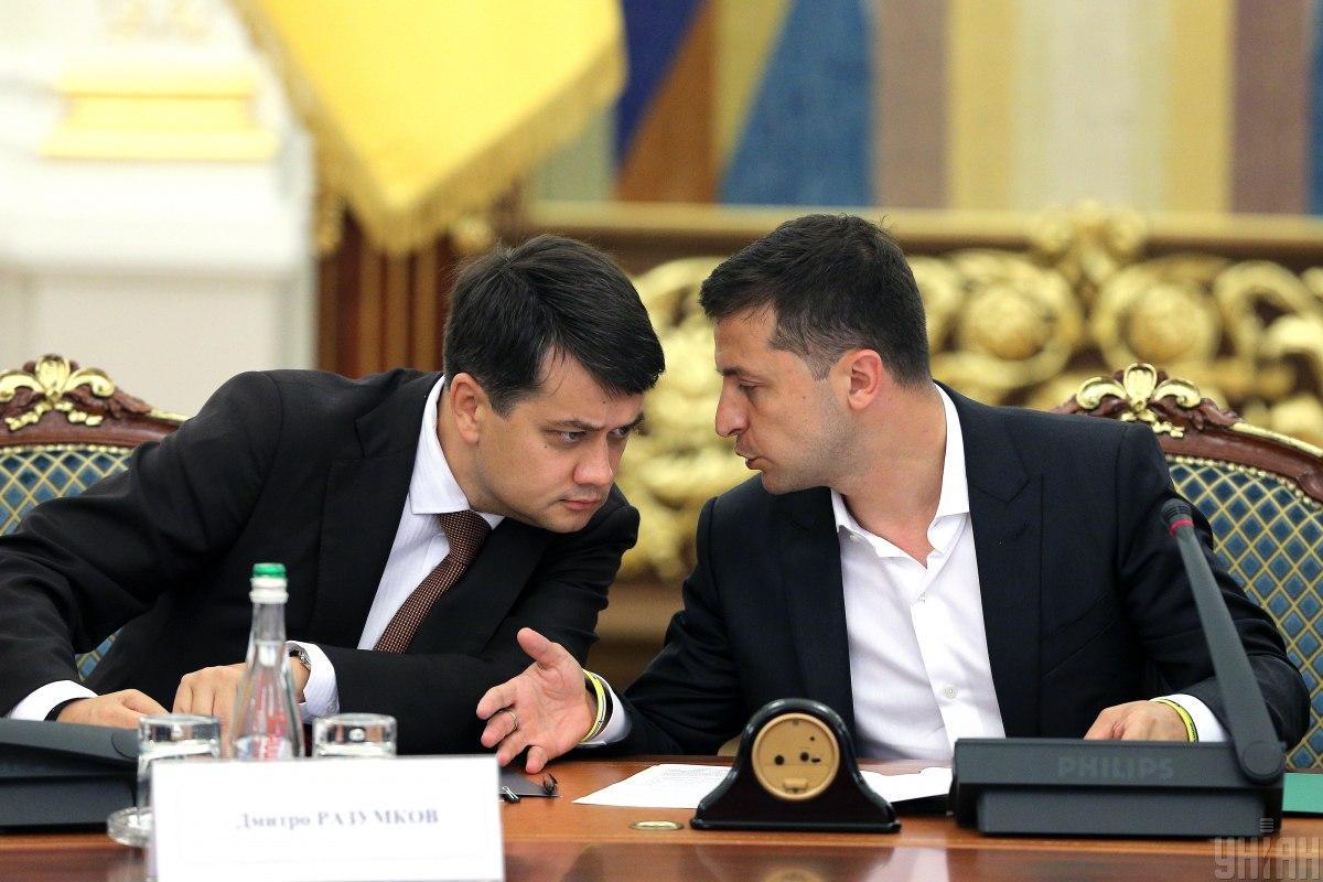 «Не нравится — уходи»: Зеленский жестко пригрозил Разумкову. Терпение лопнуло