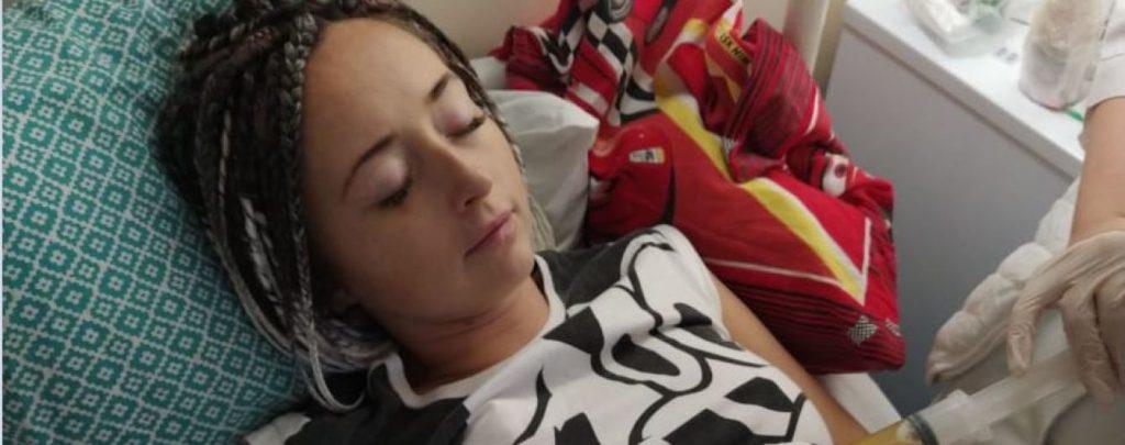 «Рак снова вернулся» Мария снова нуждается в трансплантации костного мозга