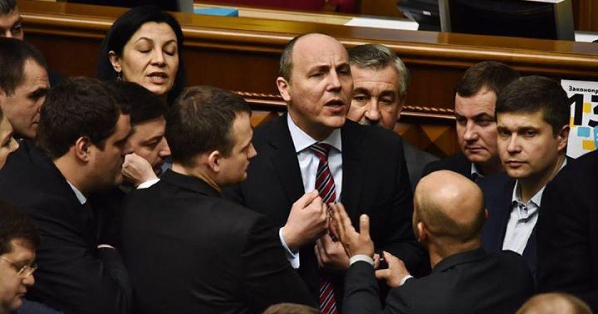 ЕС заблокировали трибуну! Парубий устроил «истерику» в Раде. Его слова поражают
