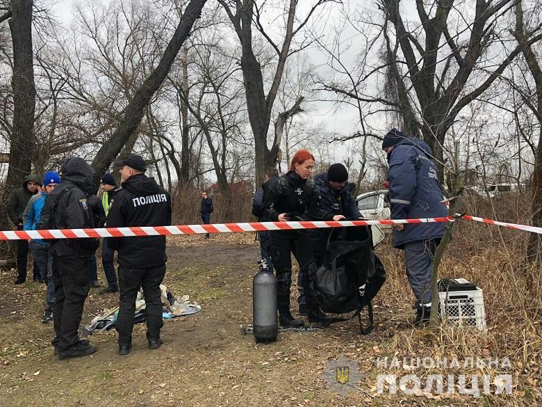 «От лица не осталось ничего»: В Киеве из Днепра рыбаки выловили человеческую голову, завернутую в пакет