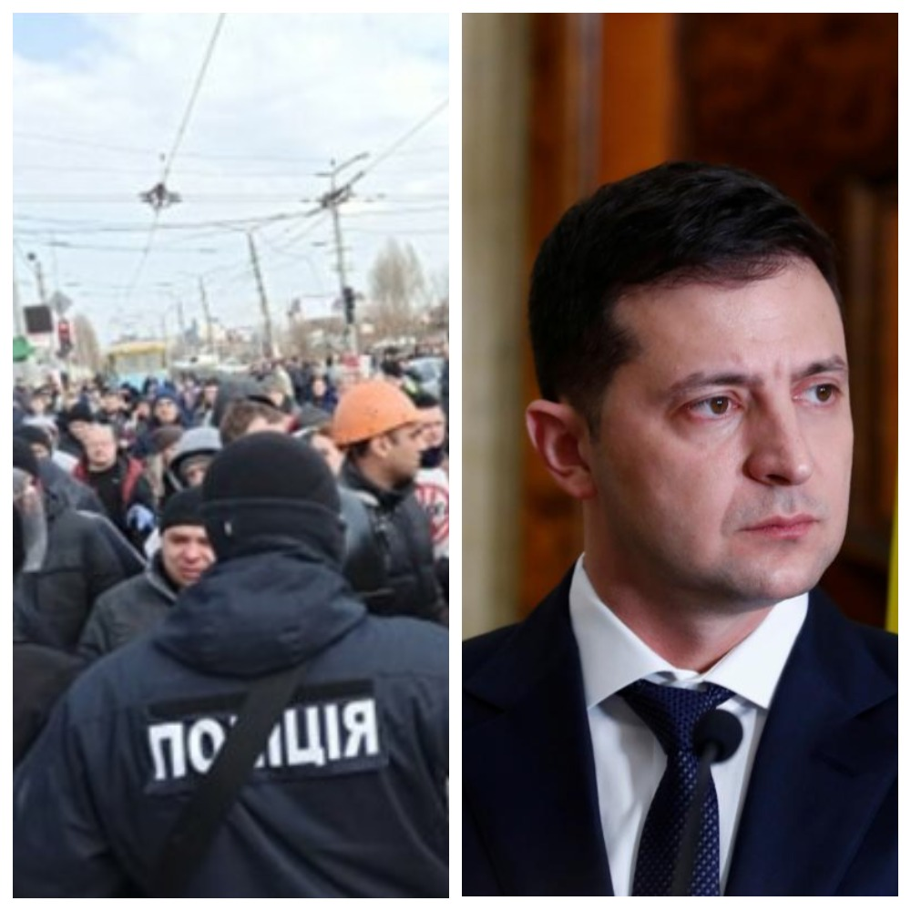 Срочно доложить Зеленскому! В Харькове происходит немыслимое. Столкновения на улице. «Нельзя допустить!»