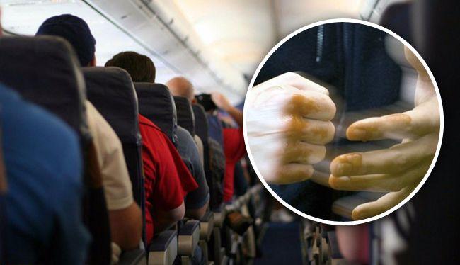 «Полетели зубки?»: Во Львове пассажира самолета чуть не убили за пьянства. Разнимали все