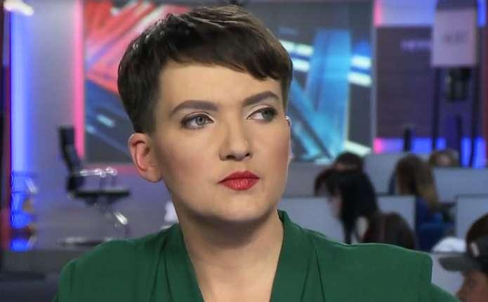 «Надежда, остановись!»: Савченко в красном платье поставила на уши всю Сеть. «Немного больная!»