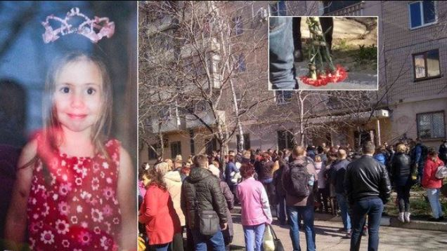«Сотни неравнодушных и почерневшие от горя родители»: В Запорожье попрощались с 8-летней Аней Ждан. «Слезы лились рекой»