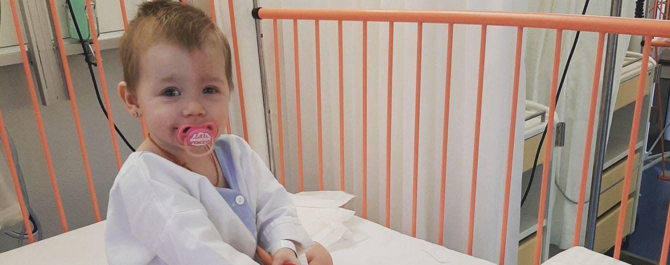 Рак поразил глаза маленькой Эмилии. Родители просят о помощи