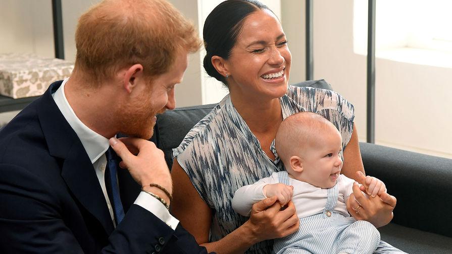 «Уже очень скоро»: Судьба маленького сына Маркл и Гарри решена. Вернется в Британию