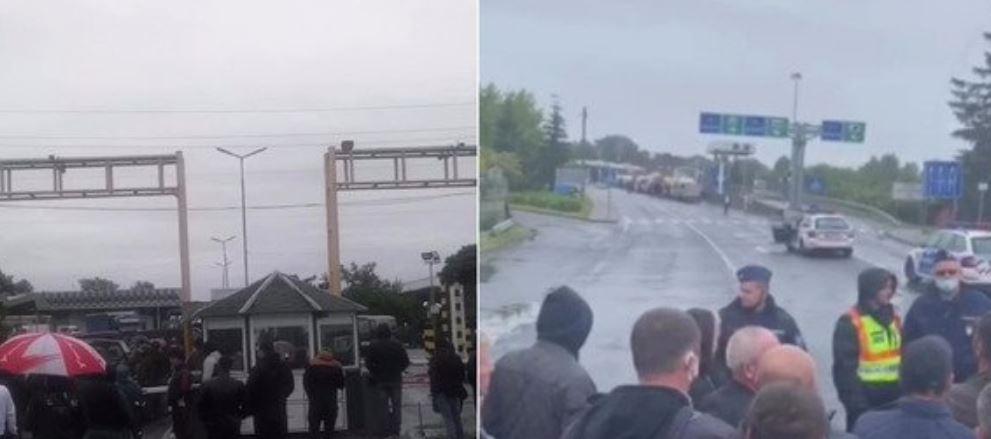 Срочно стягивают силовиков! На Закарпатье произошли столкновения на границе. Ситуация обостряется