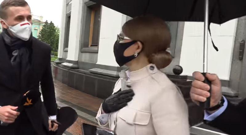 «Сбежала и быстро села в машину»: Тимошенко снова в центре скандала. Постыдное поведение. Закрыла дверь прямо перед лицом