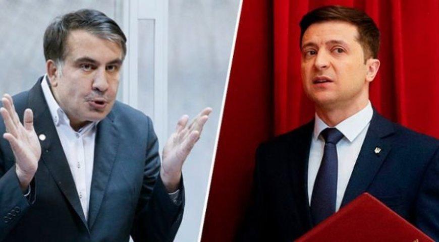 Стягивает своих. Саакашвили решился на это. Представил Зеленскому новую кандидатуру. «Система никуда не делась»