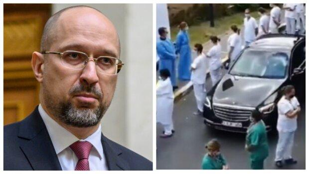 «Самый страшный сон Шмыгаля»: Медики «отомстили» премьер-министру. «Коридор позора и презрения»