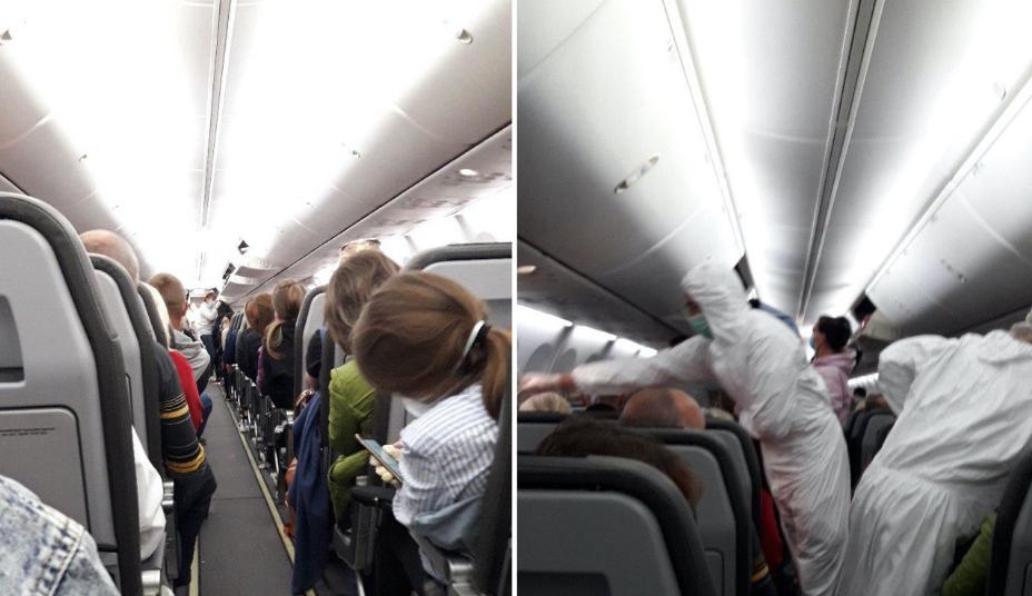 Срочно! В Борисполе происходит немыслимое. Спецрейс из Милана уже приземлился — запретили!